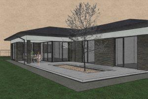 Sp Vienbucio gyvenamo namo projektas (2)