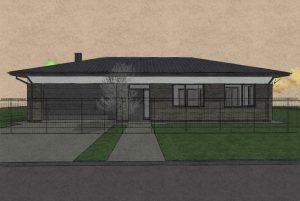 Sp Vienbucio gyvenamo namo projektas (3)