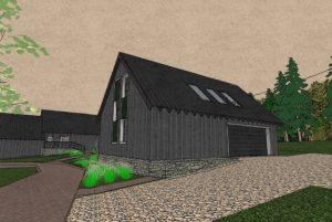 Sp Vienbucio gyvenamo namo projektas (35)