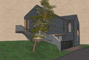 Sp Vienbucio gyvenamo namo projektas (57)