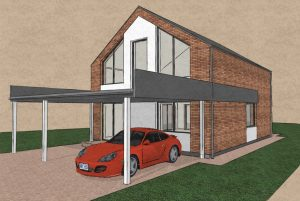 Sp Vienbucio gyvenamo namo projektas (62)