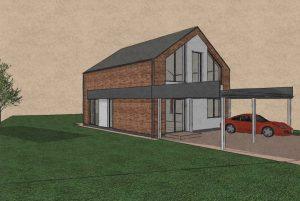 Sp Vienbucio gyvenamo namo projektas (65)