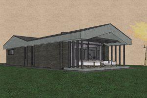 Sp Vienbucio gyvenamo namo projektas (67)